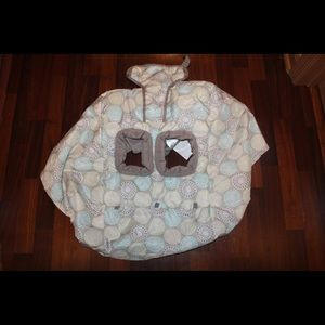Baby/toddler Portable shopping cart cover